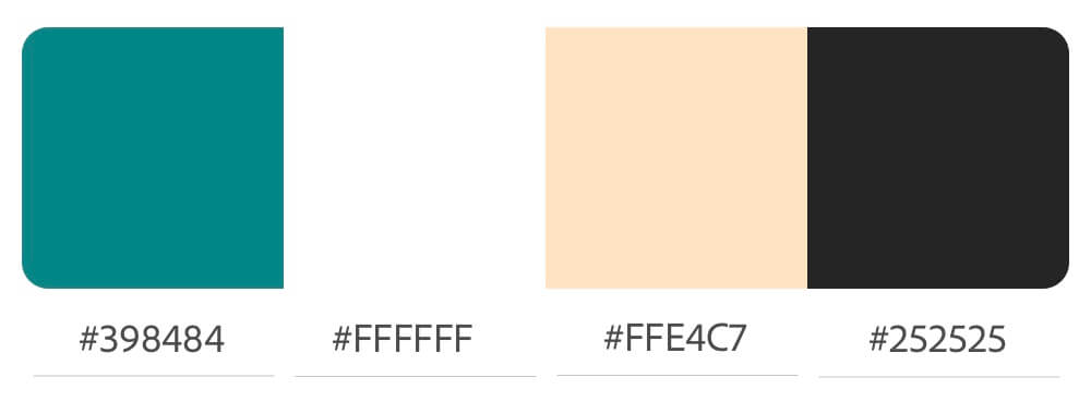 Eine weitere aktualisierte Farbpalette für Jennies Homepage