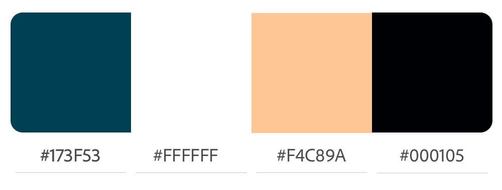 Aktualisierte Farbpalette für Jennies Homepage
